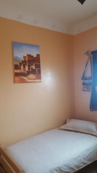 Chambre Simple Standard avec Salle de Bains Commune
