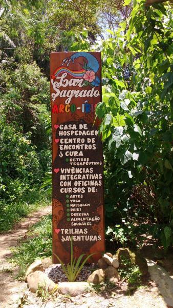 Hotel Pictures: Hospedaria Lar Sagrado Arco-Íris, Ubatuba