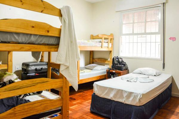 Bed in 7-Bed Male Dormitory Room