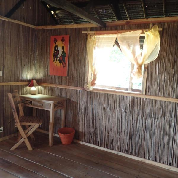 Dvoulůžkový pokoj s manželskou postelí a terasou
