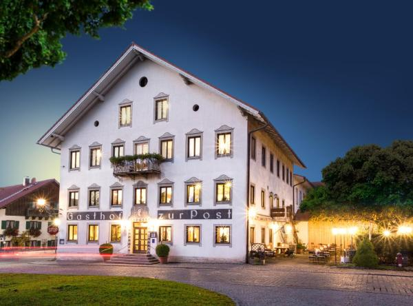 Hotelbilleder: Gasthof zur Post, Eberfing