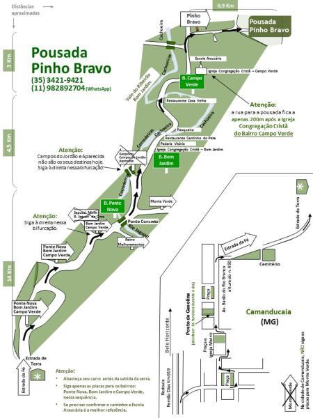 Hotel Pictures: Pousada Pinho Bravo, Camanducaia