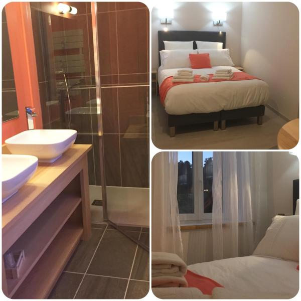 Double Room with Private External Shower and Toilet