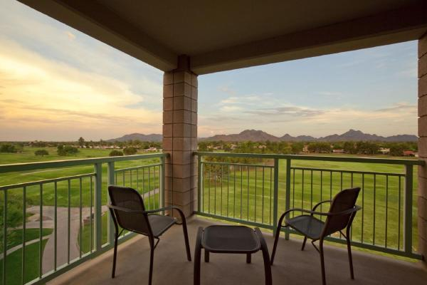 Two-Bedroom Suite with Golf Course View