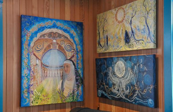 Hotel Pictures: Turquoiz Café, Gîte et Galerie d'Art, La Martre