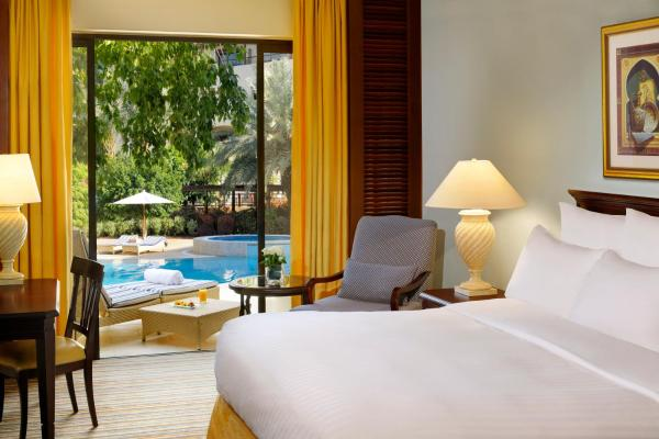 Double or Twin Room with Terrace and Pool Access