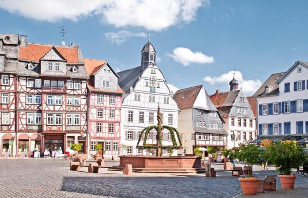Hotelbilleder: Ferienwohnung Marstall - Schloss Butzbach, Butzbach