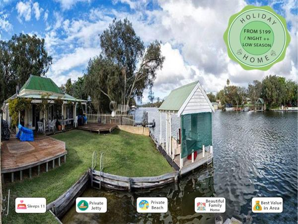 Foto Hotel: Mandurah Riverfront Holiday Rental, North Yunderup