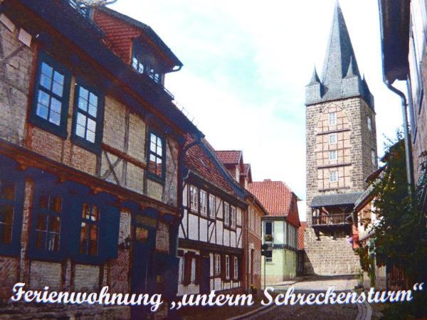 Hotelbilleder: Ferienwohnung unterm Schreckensturm, Quedlinburg