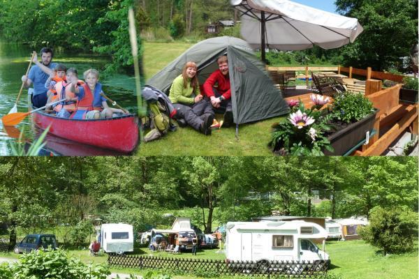 Hotel Pictures: Ferienhaus am Naturcamping Plothental, Ziegenrück
