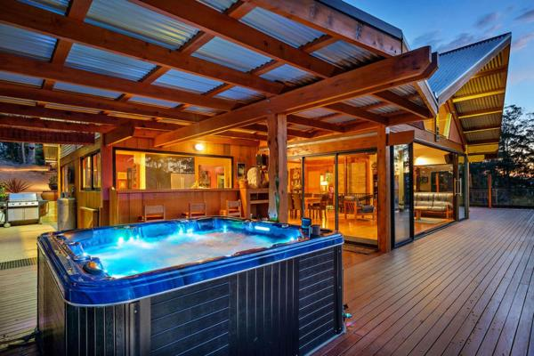 酒店图片: Huon Valley Spa Retreat, Longley Lower