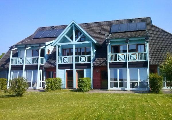 Hotelbilleder: Ferienwohnung P bei Sellin mit Südbalkon, Seedorf