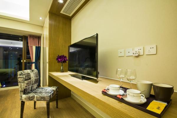 ホテル写真: Chengdu Yuerong Theme Apartment, 成都市