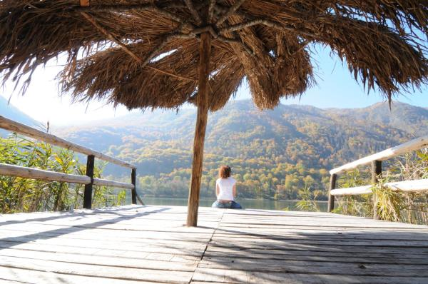 ホテル写真: Herzegovina Lodges Boracko Jezero, Jezero