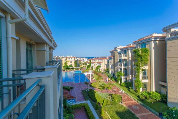 Zdjęcia hotelu: Studio Apartment in Flores Garden Beach Residence, Czernomorec