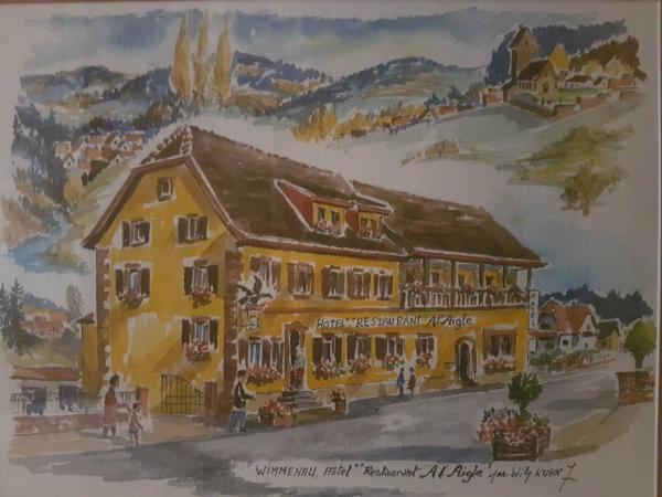 Hotel Pictures: Logis Hotel Restaurant A l'Aigle, Wimmenau