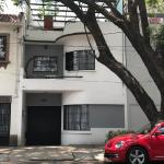 Art Deco house in Condesa, Mexico City
