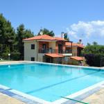 Villa with view to the sea and forest,  Paliouri
