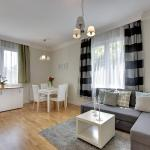 White Moddy Apartment,  Sopot