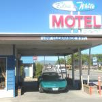 Blue and White Motel,  Kalispell