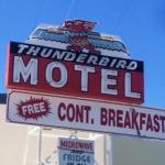Thunderbird Motel,  Bishop