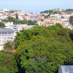 Overlooking Botanic Garden And Castle,  Lisbon