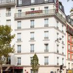 Hôtel de la Place des Alpes,  Paris