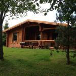 Northumbrian Log cabins,  Felton