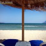 Leandros Beach, Kíssamos