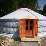 Campement de Yourtes Mariposa, Lanne