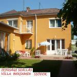 Youth Hostel Villa Benjamin - Siófok, Siófok