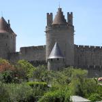 Vue sur Cité,  Carcassonne