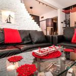 Apartment Black Red White, Belgrade