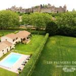 Chambres d'hôtes Les Palmiers de la Cité,  Carcassonne