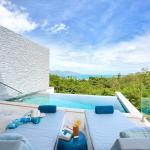 Shades of Blue - Modern Sea View Villa, Choeng Mon Beach