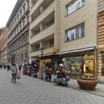 Vaci Street Apartment, Budapest