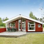 Three-Bedroom Holiday home in Hadsund 38, Odde