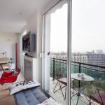 Buttes Chaumont Apartment View, Paris