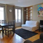 1 separated bedroom Montmartre, Paris