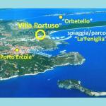 Hotel Villa Portuso,  Porto Ercole