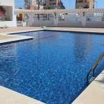 Apartment overlooking to the pool 2450, La Mata