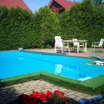 House and Pool,  Druskininkai