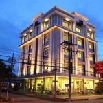The White Pearl Hotel,  Krabi town