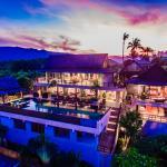 Baan Grand Vista - 5 Bedroom Panoramic Sea View Villa, Bophut