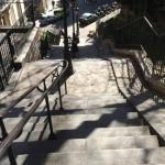 Montmartre : parvis du Sacré cœur,  Paris