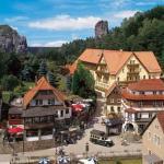 Hotel Pictures: Amselgrundschlösschen, Kurort Rathen