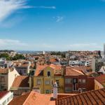 Great view in central Lisbon, Lisbon