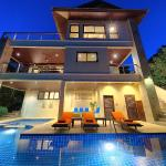 Villa Seven Swifts- Pool & Beach Access, Bophut