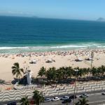 Apt Tranquilo na praia do Leme, Rio de Janeiro