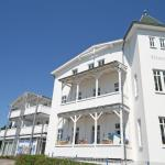 Villa Vineta - Ferienwohnung Meerblick mit Südbalkon, Göhren